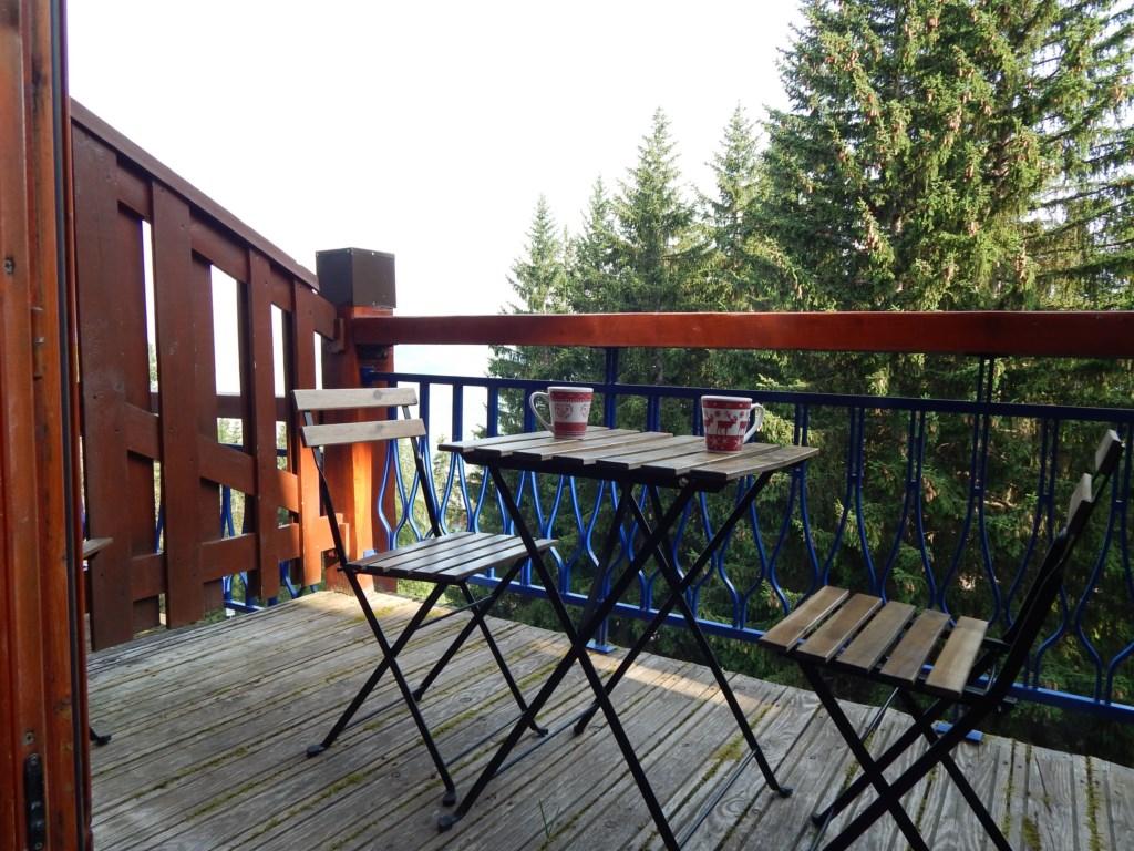 Le balcon l'été