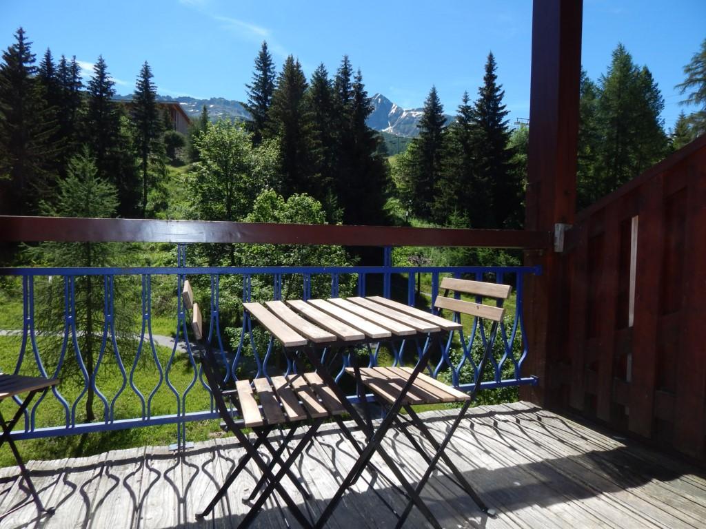 Le balcon baigné de soleil