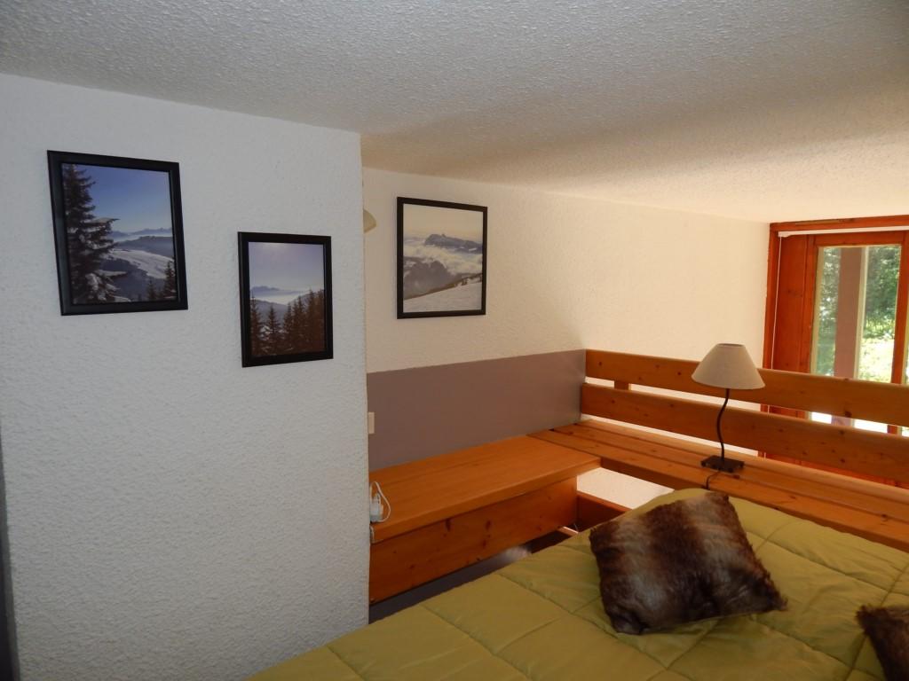 La chambre en mezzanine