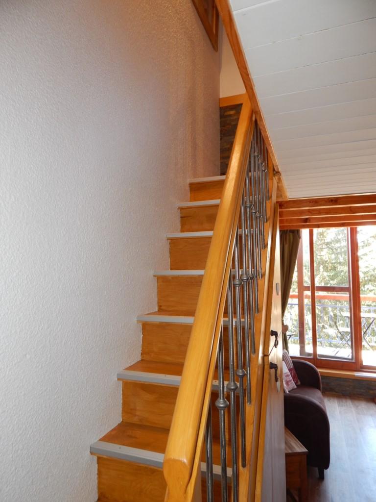 L'accès à l'étage
