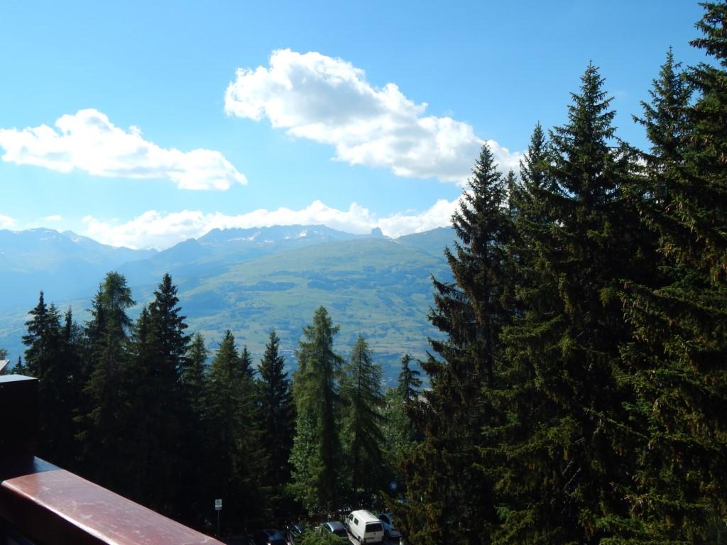 La vue du balcon l'été
