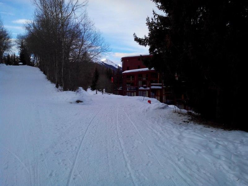 Le retour ski au pied