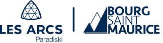 Logo les arcs bourg st maurice